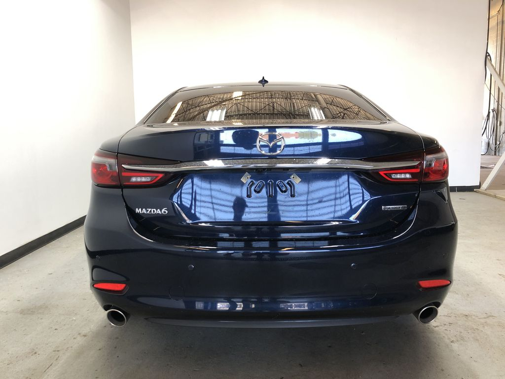 DEEP CRYSTAL BLUE MICA(42M) 2020 Mazda Mazda6 GT - Executive Demo w/ Acc. 3M, All-Weather Mats & Tint Rear of Vehicle Photo in Edmonton AB