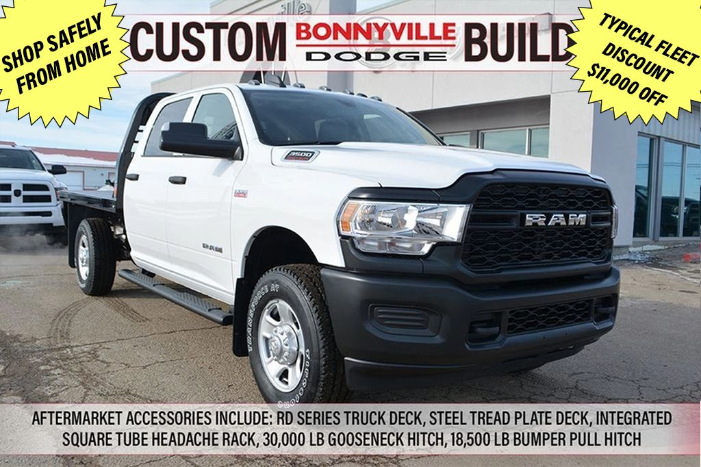 White[Bright White Clearcoat] 2020 Ram 3500