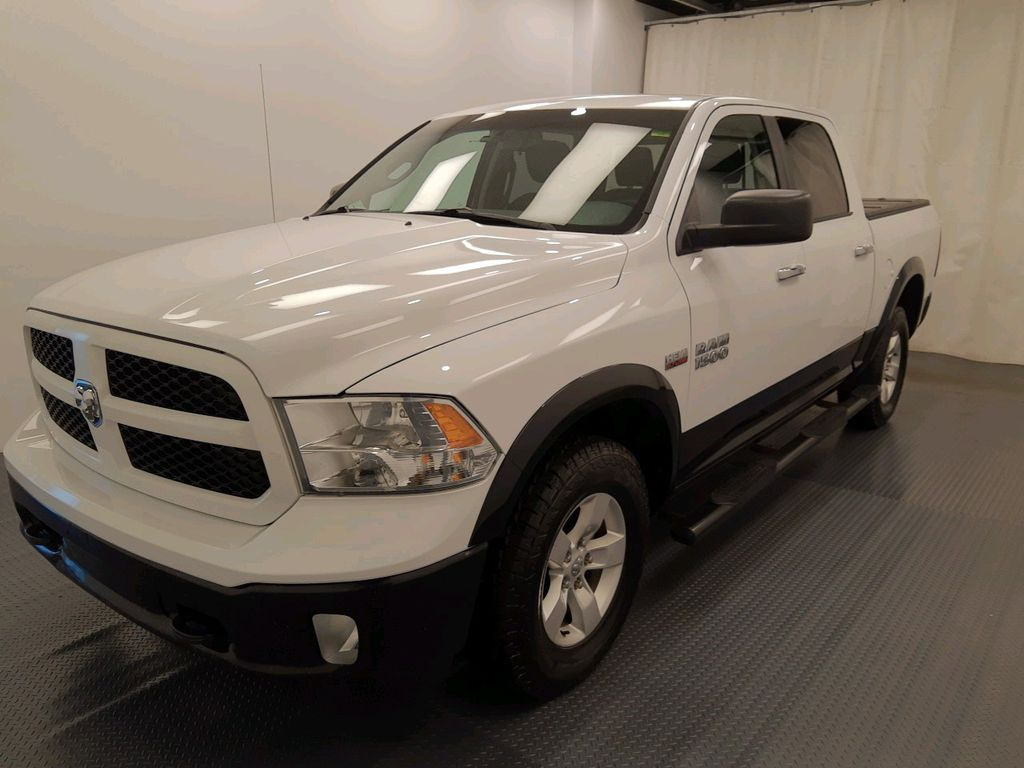 White 2014 Ram 1500 Left Front Head Light / Bumper and Grill in Lethbridge AB