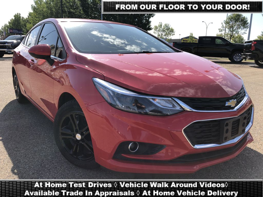 Red[Red Hot] 2018 Chevrolet Cruze