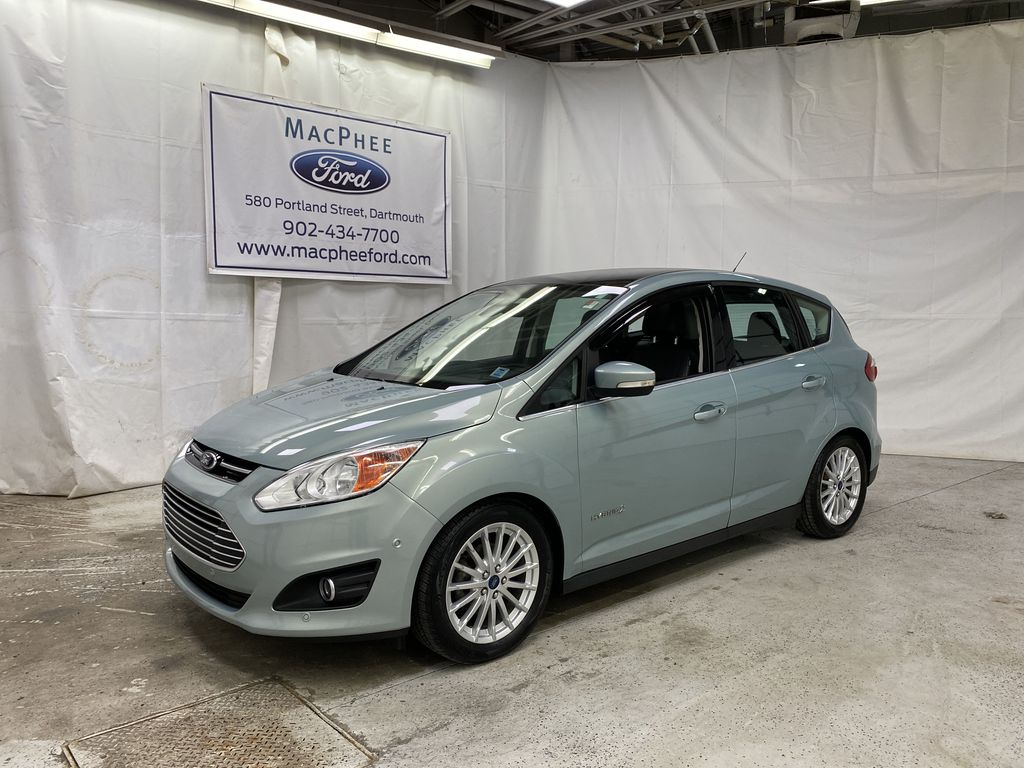 Black[Tuxedo Black Metallic] 2014 Ford C-Max Hybrid