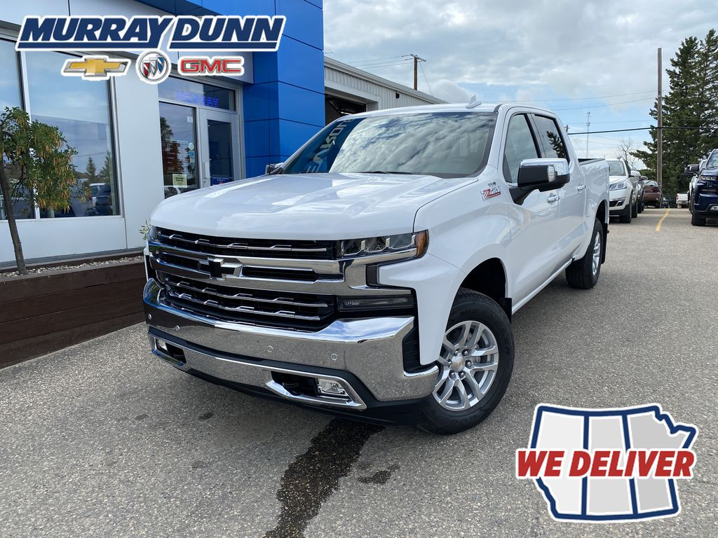 White[Summit White] 2020 Chevrolet Silverado 1500 LTZ