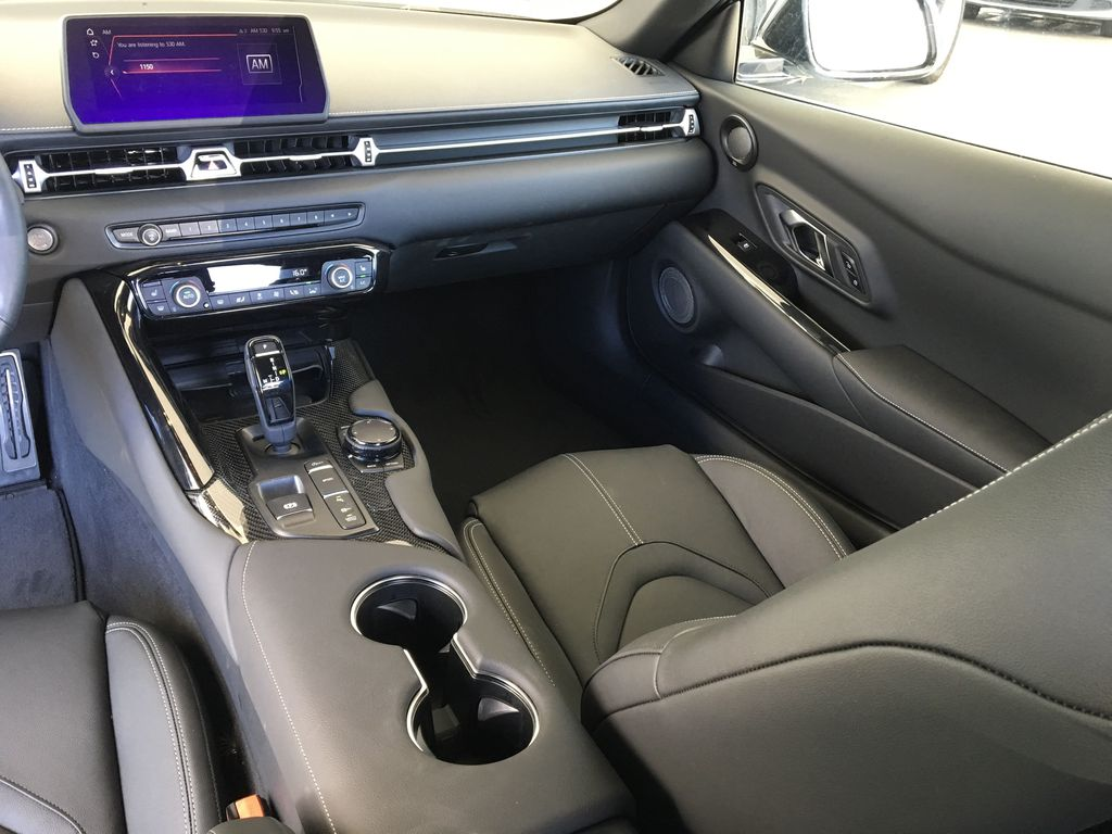 Silver[Tungsten] 2021 Toyota GR Supra 3.0 Right Side Front Seat  Photo in Kelowna BC