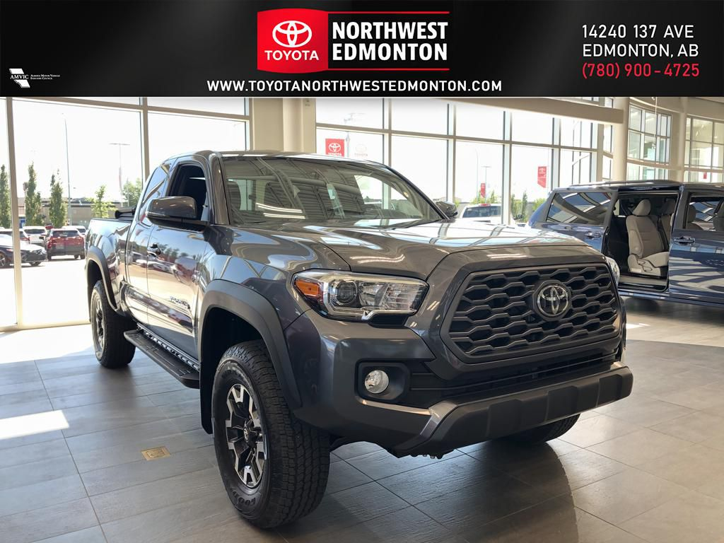 Magnetic Grey Metallic 2020 Toyota Tacoma 4WD