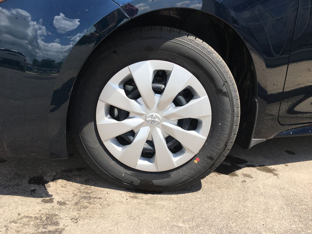 Blue[Galactic Aqua Mica] 2020 Toyota Corolla Hatchback S Package K4RBEC AM Left Front Rim and Tire Photo in Brampton ON