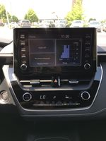 Blue[Galactic Aqua Mica] 2020 Toyota Corolla Hatchback S Package K4RBEC AM Central Dash Options Photo in Brampton ON