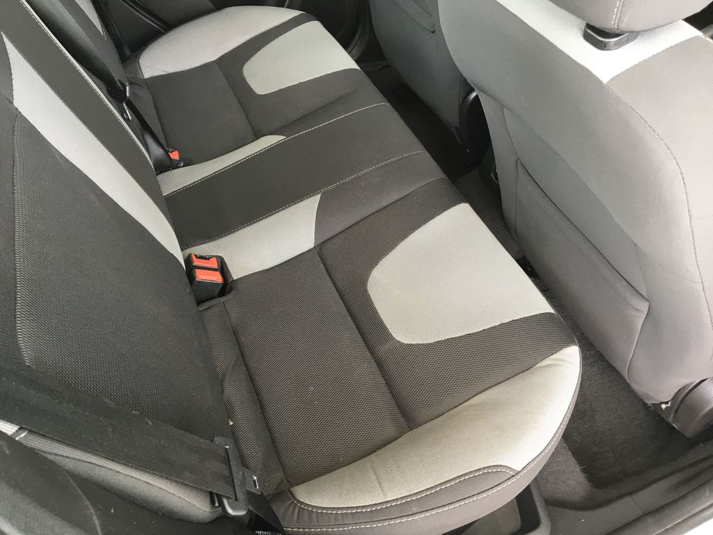 White[Oxford White] 2014 Ford Focus SE Left Side Rear Seat  Photo in Kelowna BC