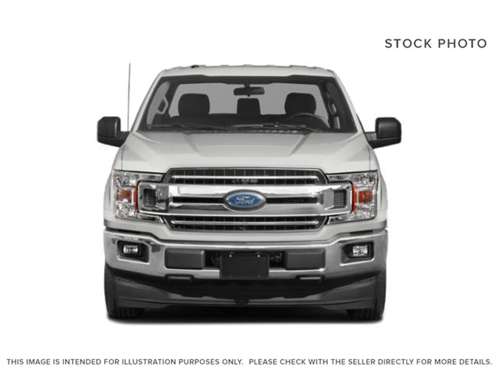 White[Oxford White] 2018 Ford F-150 Front Vehicle Photo in Fort Macleod AB