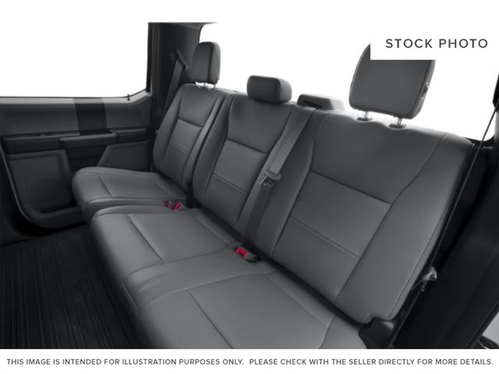 White[Oxford White] 2018 Ford F-150 Left Side Rear Seat  Photo in Fort Macleod AB