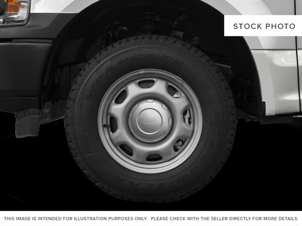White[Oxford White] 2018 Ford F-150 Left Front Rim and Tire Photo in Fort Macleod AB