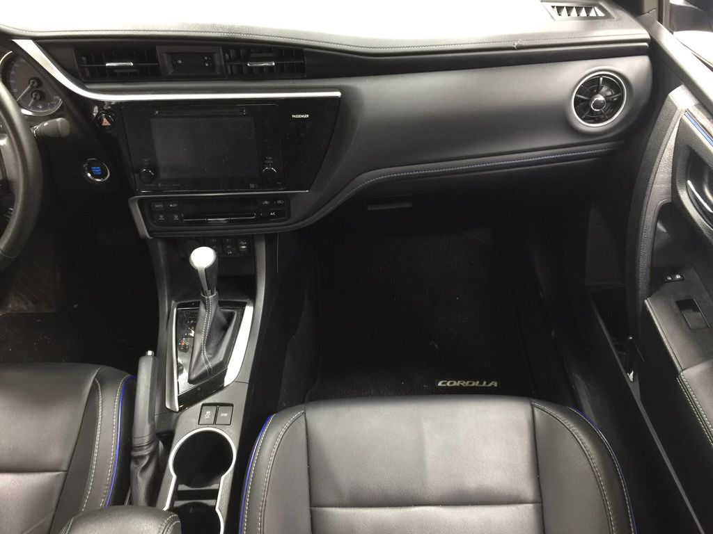 Black[Black Sand Pearl] 2017 Toyota Corolla XSE Right Front Seat Photo in Sherwood Park AB