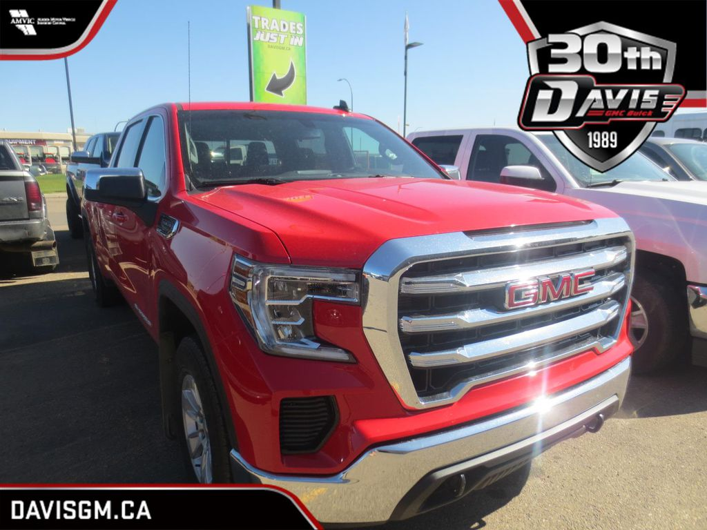Red 2019 GMC Sierra 1500