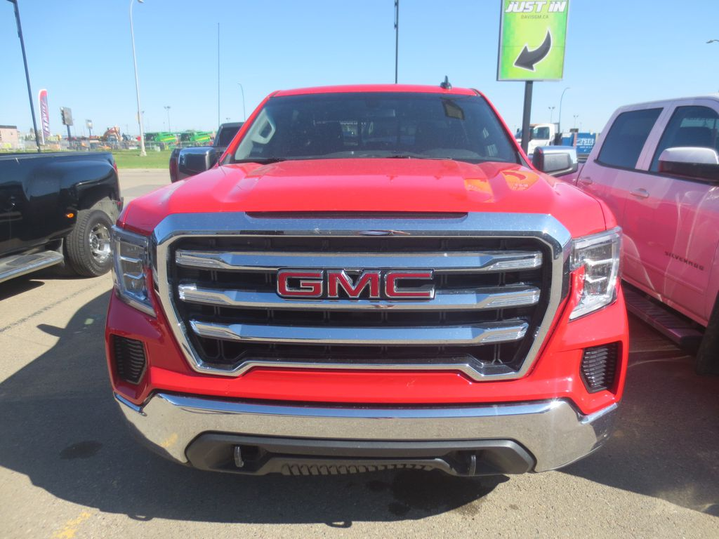 Red 2019 GMC Sierra 1500 Left Front Rim and Tire Photo in Lethbridge AB
