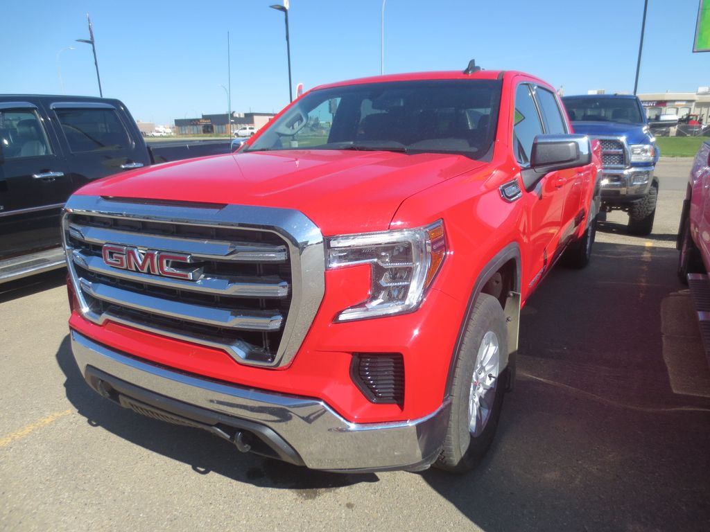 Red 2019 GMC Sierra 1500 Left Front Corner Photo in Lethbridge AB