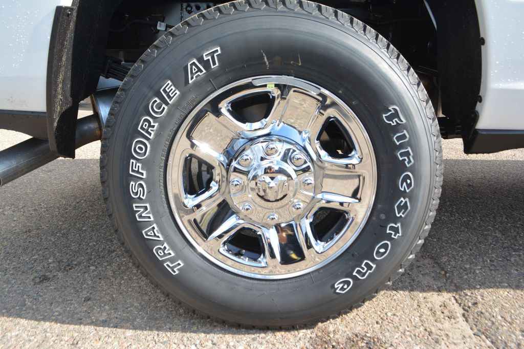White[Bright White] 2020 Ram 3500 Left Front Rim and Tire Photo in Bonnyville AB