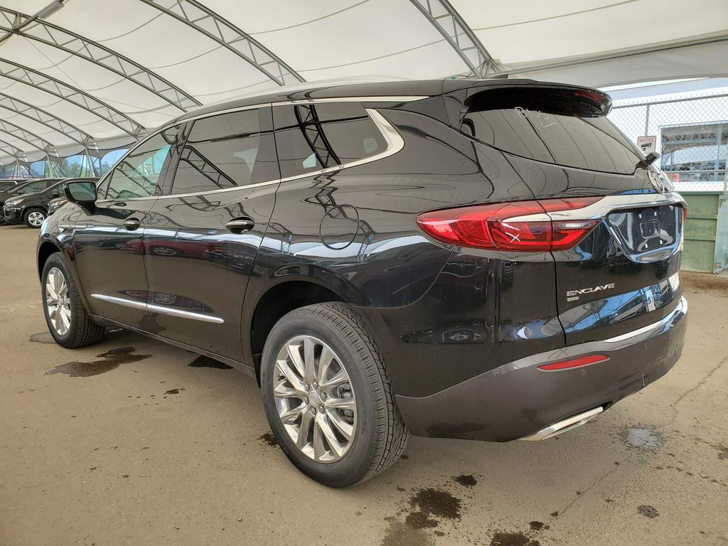 Black 2020 Buick Enclave Strng Wheel/Dash Photo: Frm Rear in Airdrie AB