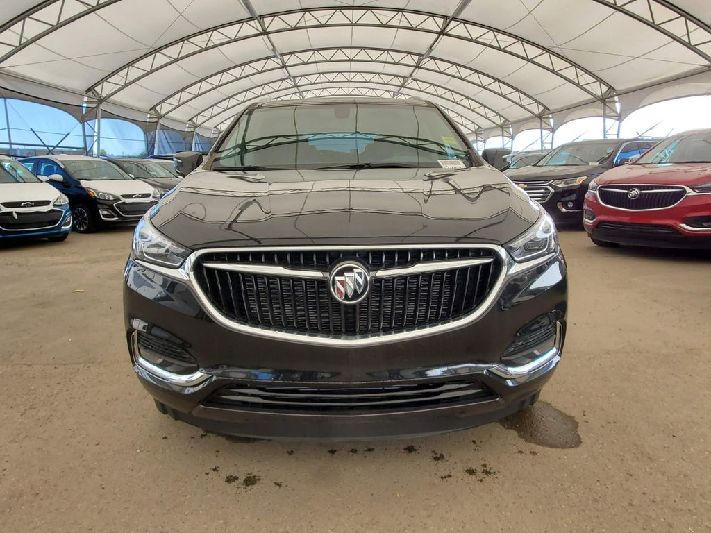 Black 2020 Buick Enclave Left Front Corner Photo in Airdrie AB