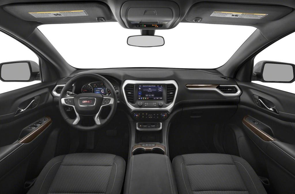 Red 2020 GMC Acadia Driver's Side Door Controls Photo in Barrhead AB