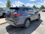 Gray[Magnetic Gray Metallic] 2020 Toyota Highlander Hybrid Platinum Package DBRCHC BA Sunroof Photo in Brampton ON
