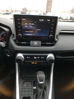 Red[Ruby Flare Pearl] 2020 Toyota RAV4 AWD XLE Premium Package R1RFVT BD Central Dash Options Photo in Brampton ON