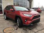 Red[Ruby Flare Pearl] 2020 Toyota RAV4 AWD XLE Premium Package R1RFVT BD Right Front Corner Photo in Brampton ON