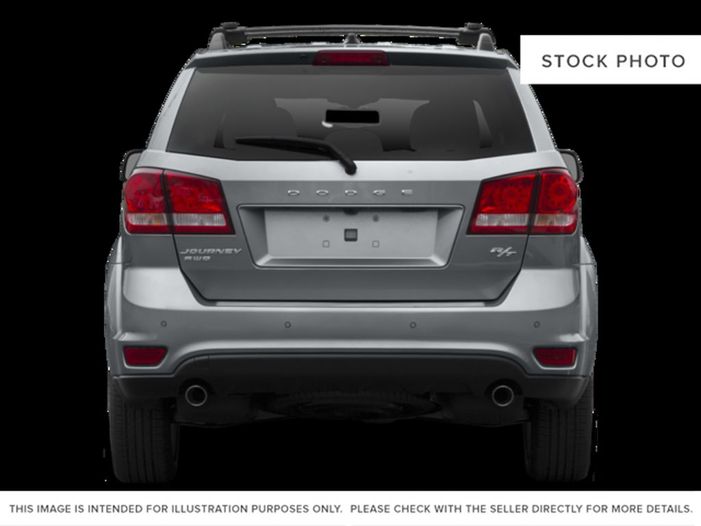 White 2016 Dodge Journey Rear of Vehicle Photo in Medicine Hat AB