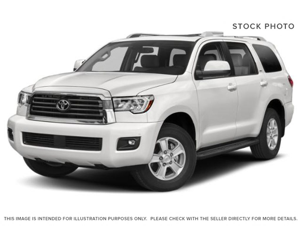 White[Alpine White] 2018 Toyota Sequoia