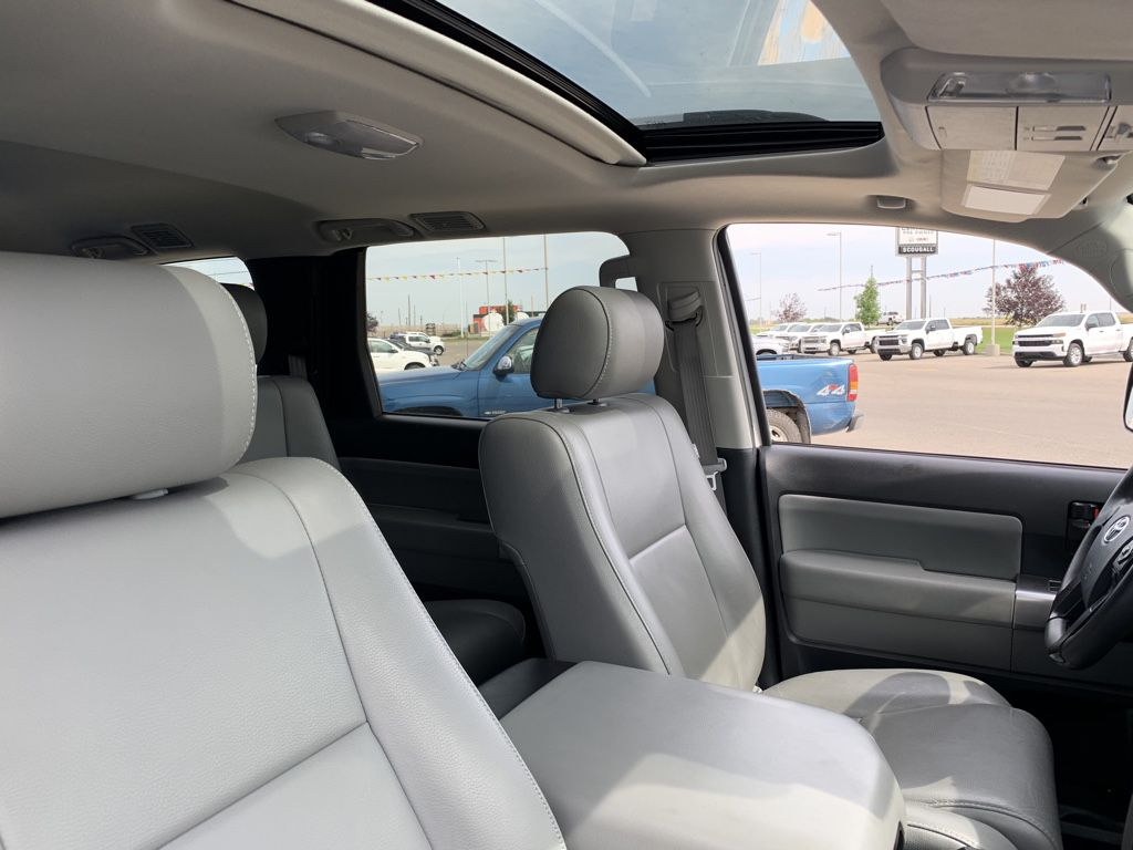 White[Alpine White] 2018 Toyota Sequoia Driver's Side Door Controls Photo in Fort Macleod AB