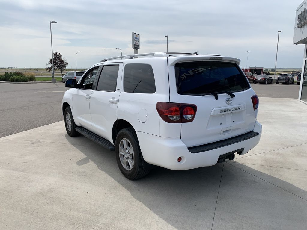 White[Alpine White] 2018 Toyota Sequoia Left Front Head Light / Bumper and Grill in Fort Macleod AB