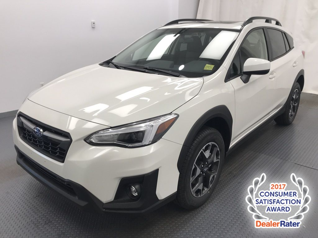 White 2020 Subaru Crosstrek