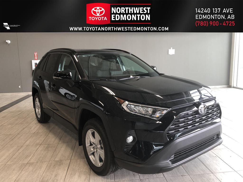 Midnight Black Metallic 2020 Toyota RAV4