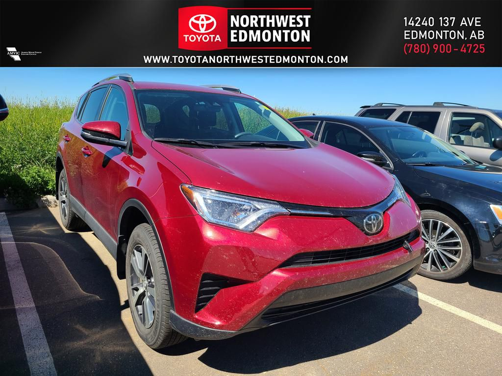 Red 2018 Toyota RAV4 LE | Extended Warranty Included