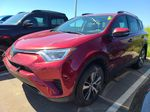 Red 2018 Toyota RAV4 LE | Extended Warranty Included Odometer Photo in Edmonton AB