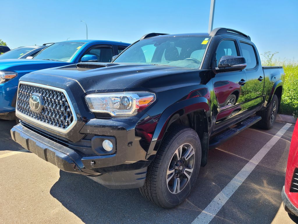 Black 2018 Toyota Tacoma SR5 Odometer Photo in Edmonton AB
