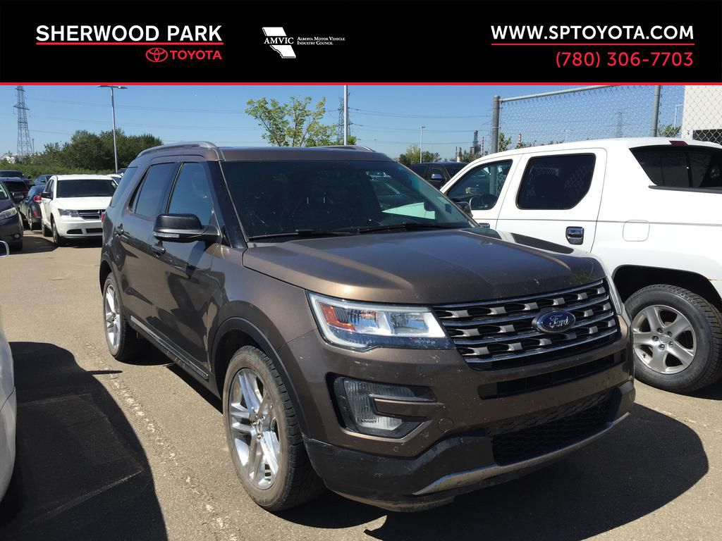 Brown[Bronze Fire Metallic Tinted Clearcoat] 2016 Ford Explorer XLT AWD