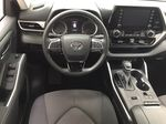 White[Blizzard Pearl] 2020 Toyota Highlander L Left Front Seat Photo in Sherwood Park AB