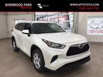 White[Blizzard Pearl] 2020 Toyota Highlander L Primary Listing Photo in Sherwood Park AB