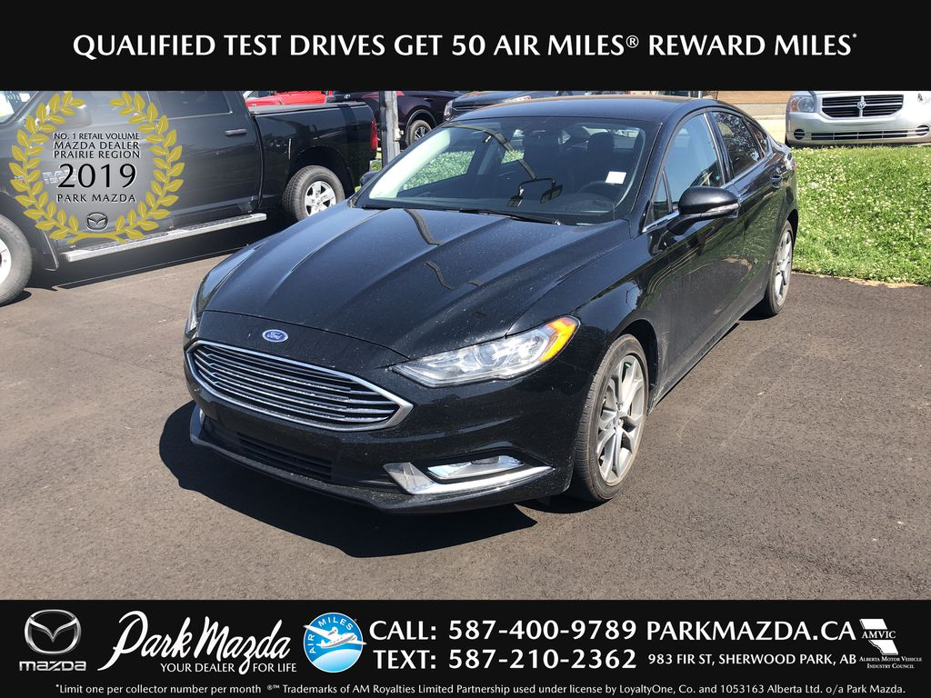 BLACK 2017 Ford Fusion