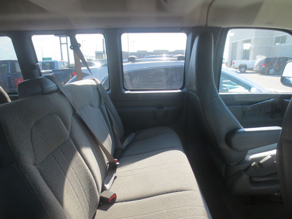 Silver 2018 Chevrolet Express Passenger Driver's Side Door Controls Photo in Lethbridge AB