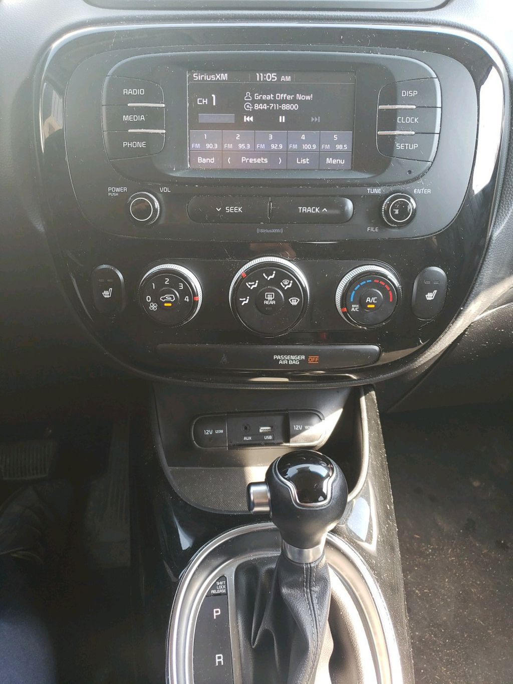 Red 2017 Kia Soul Left Front Head Light / Bumper and Grill in Fort Macleod AB