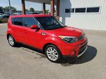 Red 2017 Kia Soul Left Front Rim and Tire Photo in Fort Macleod AB