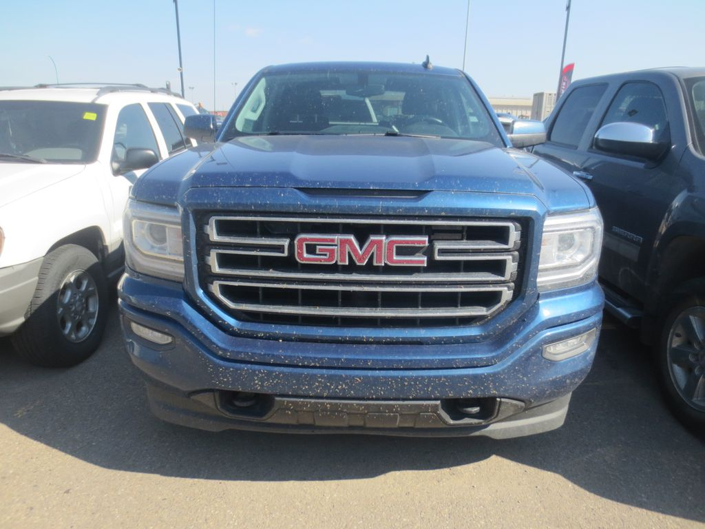 Blue 2018 GMC Sierra 1500 Left Front Rim and Tire Photo in Lethbridge AB
