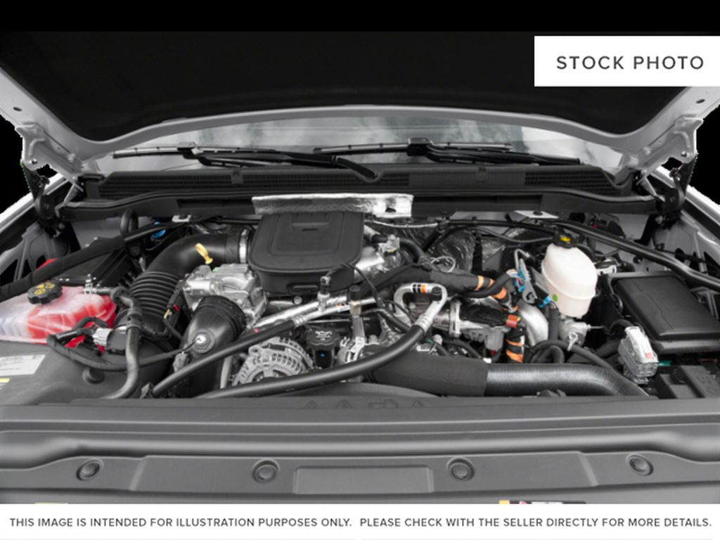 White[Summit White] 2019 GMC Sierra 3500HD Engine Compartment Photo in Fort Macleod AB