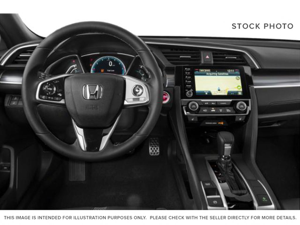 GREY NH-797M 2020 Honda Civic Coupe Right Side Front Seat  Photo in Kelowna BC