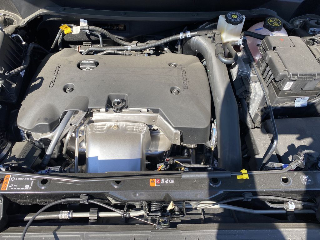 Black[Ebony Twilight Metallic] 2020 GMC Terrain Engine Compartment Photo in Edmonton AB