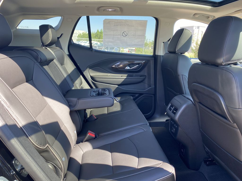 Black[Ebony Twilight Metallic] 2020 GMC Terrain Right Side Rear Seat  Photo in Edmonton AB