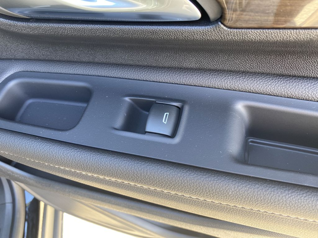Black[Ebony Twilight Metallic] 2020 GMC Terrain Passenger Rear Door Controls Photo in Edmonton AB