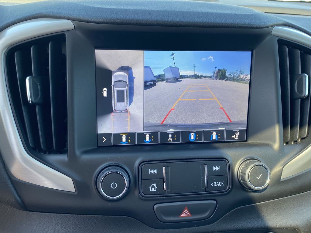 Black[Ebony Twilight Metallic] 2020 GMC Terrain Backup Camera Closeup Photo in Edmonton AB