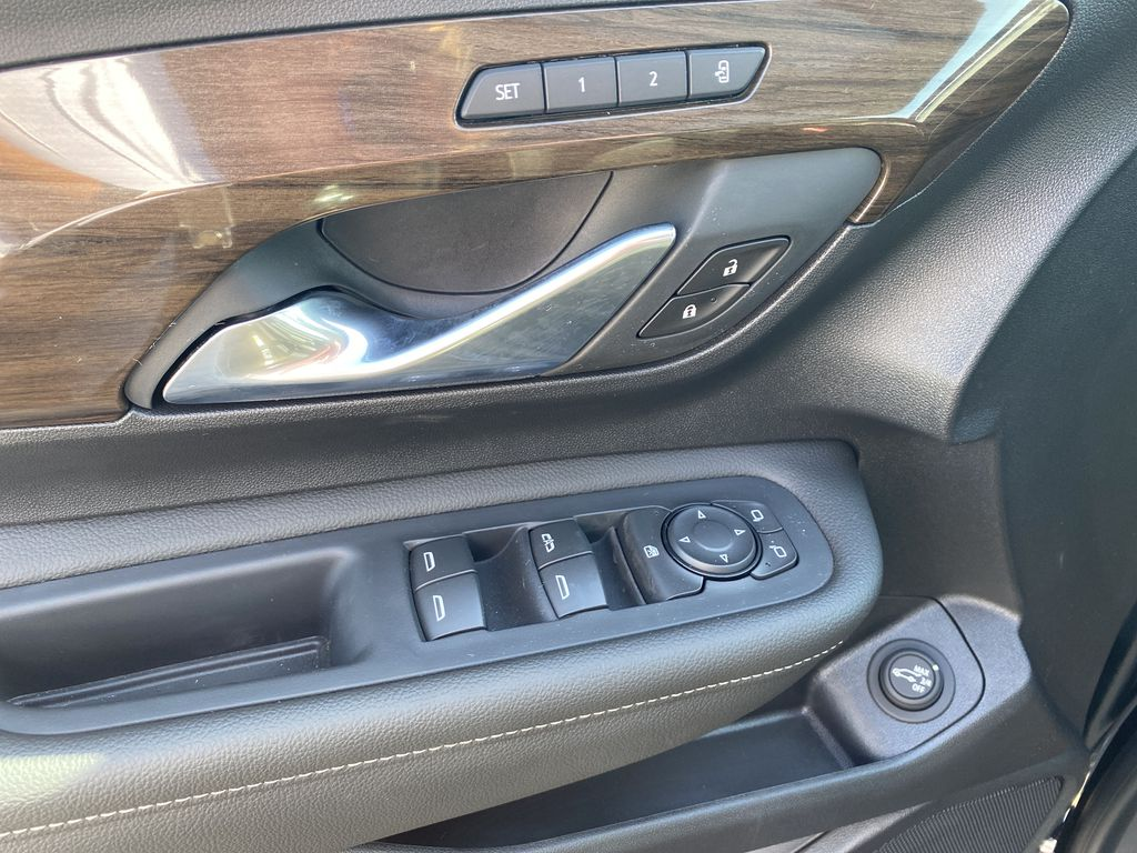 Black[Ebony Twilight Metallic] 2020 GMC Terrain  Driver's Side Door Controls Photo in Edmonton AB