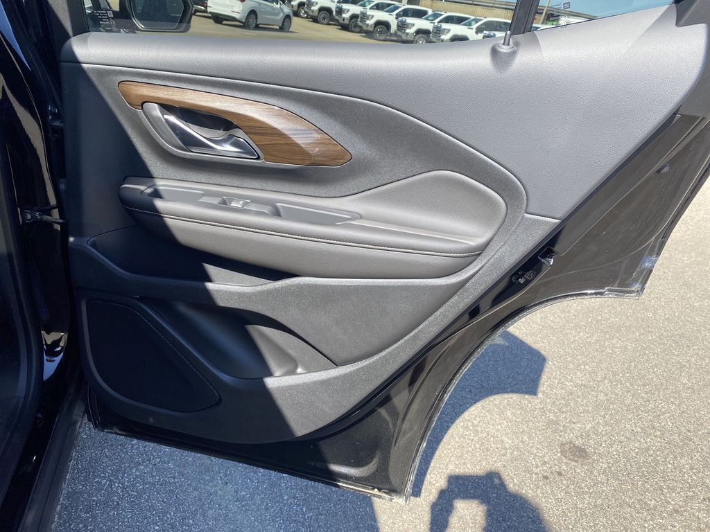 Black[Ebony Twilight Metallic] 2020 GMC Terrain Right Rear Interior Door Panel Photo in Edmonton AB
